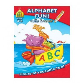 Alphabet Fun: Write & Reuse Ages 4-6