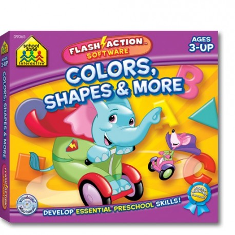 Colors, Shapes & More  Flash action software