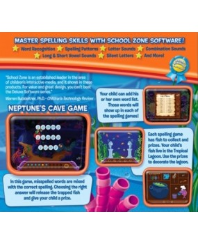 Spelling 1-2 deluxe Software