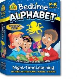 Bedtime alphabet flashcards