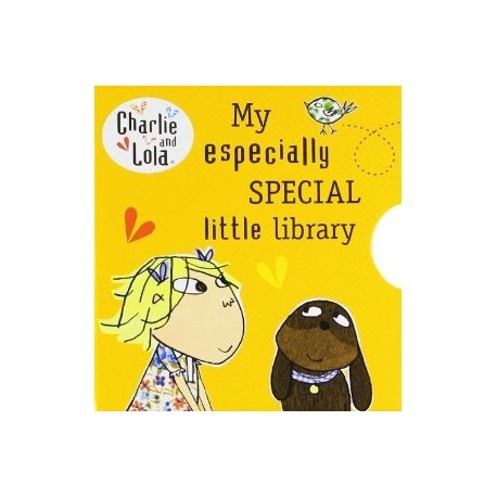 Charlie and Lola: My Especially Special Little Library