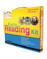 Early Reading Kit around the clock D-E