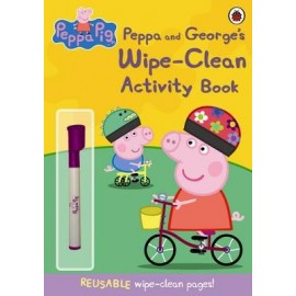 Peppa Pig - And George's wipe-clean Activity book