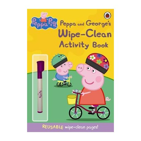 Peppa Pig and George's wipe-clean Activity book