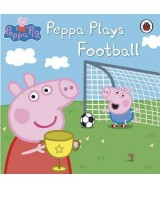 Peppa Pig plays football