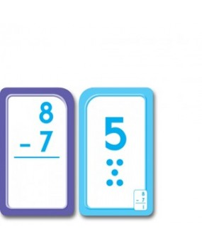 Subtraction 0-12 Flash Cards