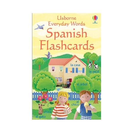 Everyday Words Spanish flashcards