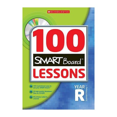 100 Smartboard Lessons for Year R + CDROM