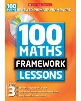 100 New Maths Framework Lessons for Year 3 + CDROM