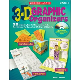3-D Graphic Organizers: 20 Innovative
