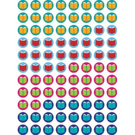 880 Mini Books Design Reading Reward Stickers for Teachers