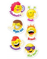Smiley Faces Stickers CTP4113