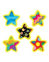 Poppin' Patterns Stars Hot Spots Stickers CTP 7154