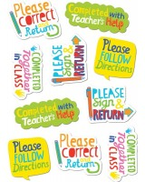 Time-Saving Phrases Stickers CTP 4125