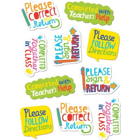 Time-Saving Phrases Stickers
