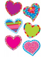 Valentine Hearts Stickers CTP4118