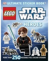 Star Wars Heroes Lego Sticker book