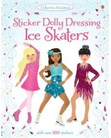 Sticker Dolly dressing Ice skater