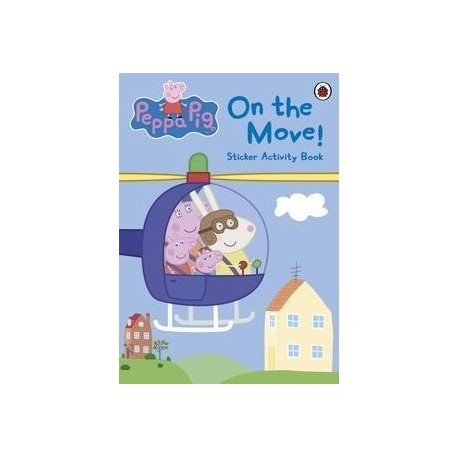 Peppa Pig - On the move! Sticker