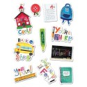 Schooltime Stickers - CTP4127
