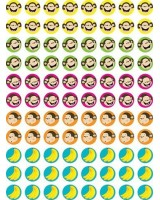 Monkeys & bananas stickers CTP7151