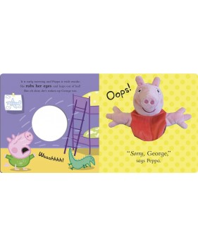 Play with Peppa! A puppet play book