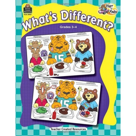 What's Different?, Grades 3-4 (Start to Finish)