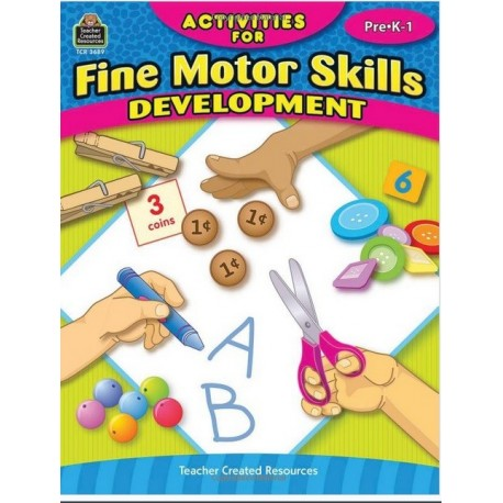 Activities for Fine motor skills development. Pre K - 1