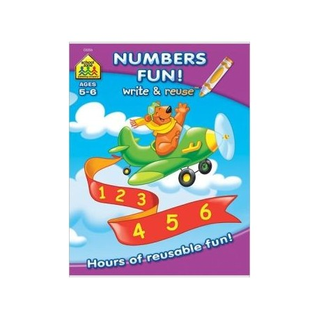 Numbers Fun! Write & Reuse