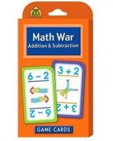 Math War: Addition & Subtraction Game Cards