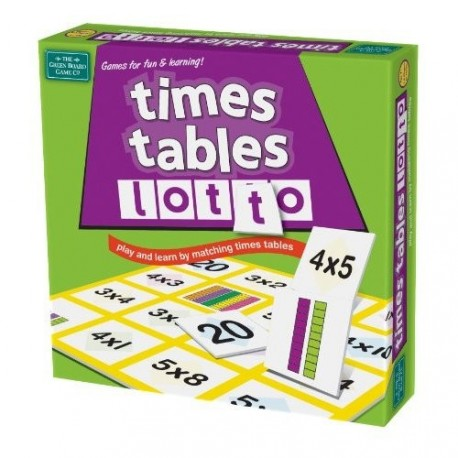 Lotto - Times Tables