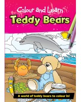 Colour and Learn Teddy Bears