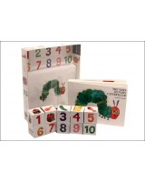 The very hungry caterpillar Board book with number blocks
