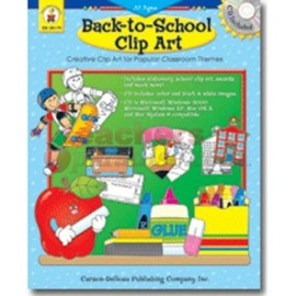 Back-to-School Clip Art + CD