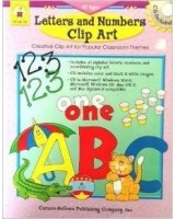 Letters and Numbers Clip Art (Creative Clip Art for Popular Classroom Themes (includes CD)