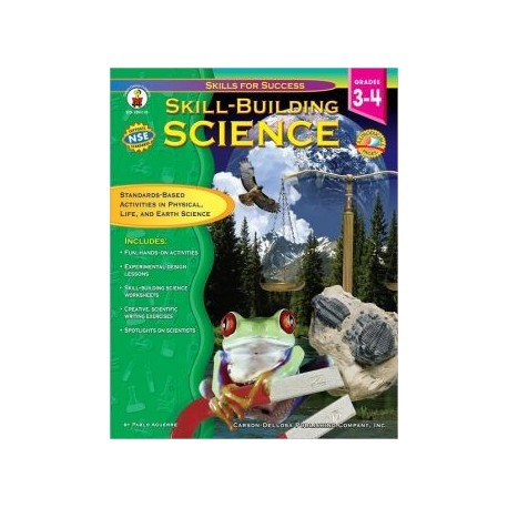 View Full SizeLook Inside the BookState & National Correlations Skill-Building Science Resource Book Grades 3-4