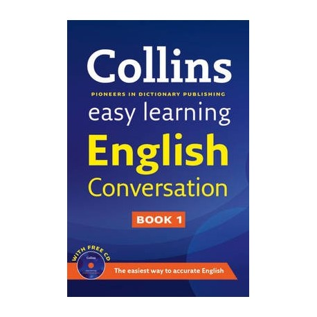 collin easy learning english conversation book 1 english wooks