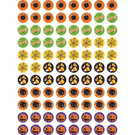 Halloween stickers - CTP 7170