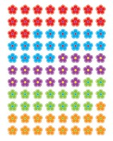 Flowers Hot Spots Stickers -CTP7155