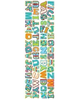 "Dots on Turquoise 2"" Designer Letter Stickers -CTP4146"