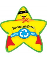 Environmental Super Hero Stickers CTP4624