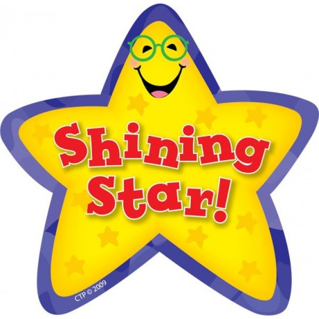 shining star stickers ctp1071 english wooks Superstar Award Clip Art Superstar Award Clip Art