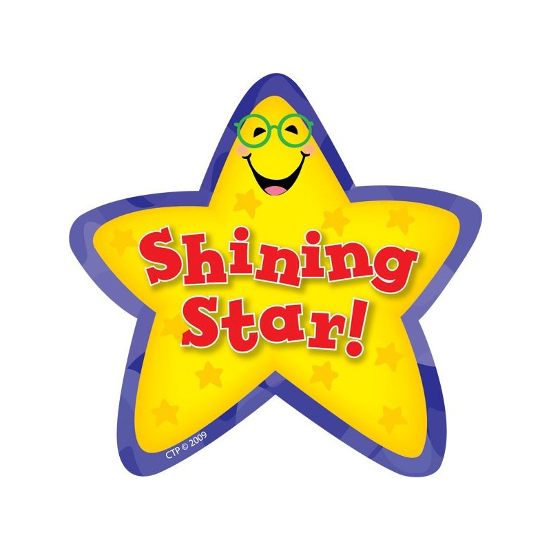 Shining Star Stickers - CTP1071 - English Wooks