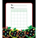 Dots on Black Apples Chart - CTP1412
