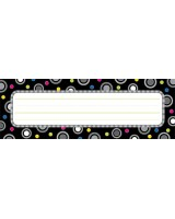 Polka Dot Party Name Plates - CTP3888