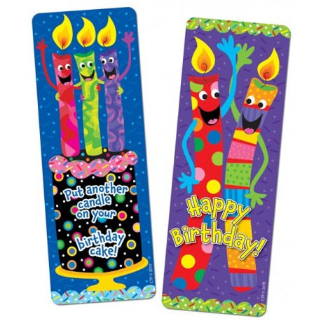 Birthday Candles Bookmarks - CTP0930