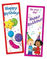 Happy Birthday Bookmarks CTP0929