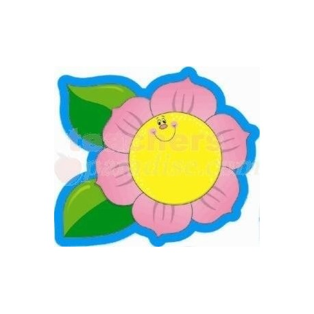 Flowers, Colorful Cut-Outs -  CD5515