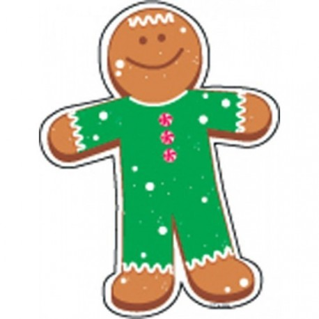 Gingerbread Person - CTP4655