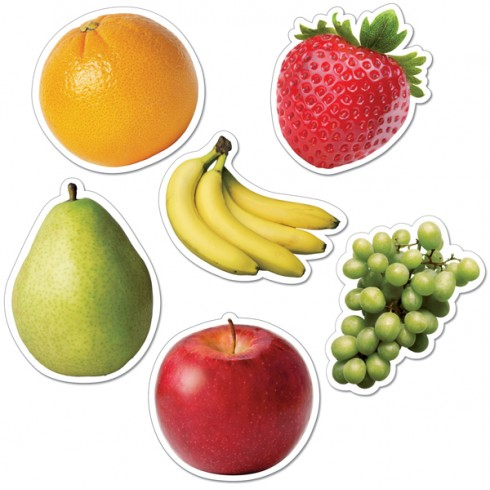 Fruits Cut-Outs - CTP3877 - English Wooks